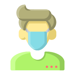 coronavirus, medical, avatar, facial, covid19, mask icon icon