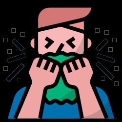cough, sneeze, sick, covid19, coronavirus icon icon