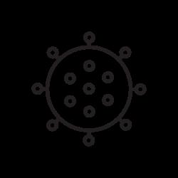 covid, coronavirus, virus, corona icon icon