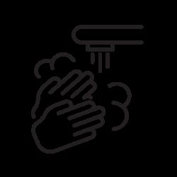 covid, hand, coronavirus, wash icon icon