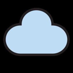 data, cloud, database, computing, network, storage, internet icon icon