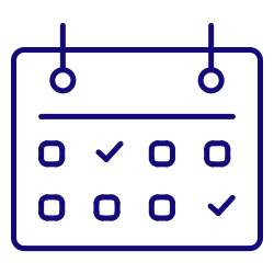 date, calendar, meeting, reminder, time icon icon