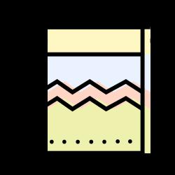 decoration, interior, bathroom, towel icon icon