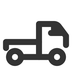 delivery, lorry, truck icon icon