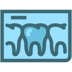 dental, tooth, tooth x ray, dentist, dental records, dentistry, x rays icon icon