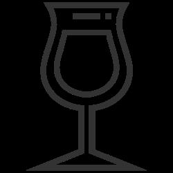 dessert, wine, beverage, alcohol, drink icon icon