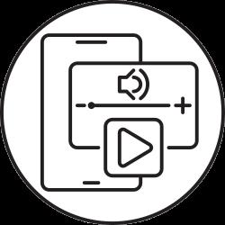 device, phone, audio, speaker, sound, volume, smartphone icon icon