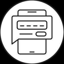device, phone, smartphone, password icon icon
