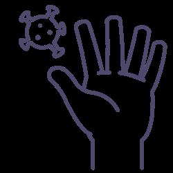 diseas, wash, hand, virus, your, corona icon icon