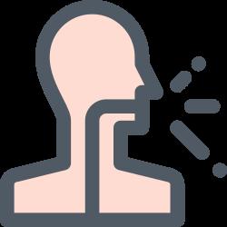 disease, cough, virus, flu icon icon