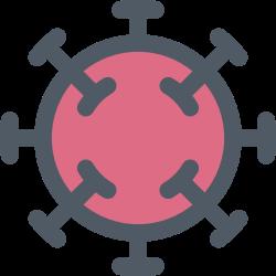 disease, virus, corona, covid19 icon icon
