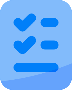 document, check, mark, checklist, bullet list, todo list, list icon icon