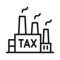 due, business, industrial, legal, annual, tax, fee icon icon