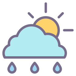 element, cloud, weather, rain, forecast, climate, sunny icon icon