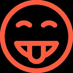 emotion, fool, reaction, joke, face, funny, social, gag, emoji icon icon