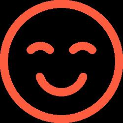 emotion, giggles, reaction, face, social, fun, smile, happy, emoji icon icon