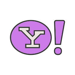 engine, website, search, yahoo, internet, home, page icon icon