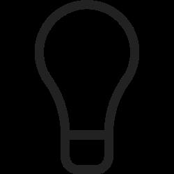equipment, tool, idea, bulb, lamp, light, energy icon icon