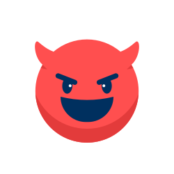 expression, sad, emotion, emoji, emoticon, laugh evil icon icon