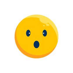 expression, shock, emotion, face, emoji, emoticon, happy icon icon