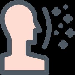 face, contact, virus, disease icon icon