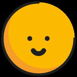face, emoji, slightly smiling, emoticon icon icon