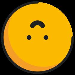 face, emoji, upside-down, emoticon icon icon