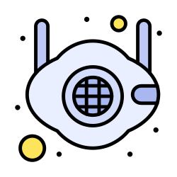 face, mask, medical, n95, safety icon icon