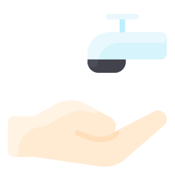 faucet, hygiene, hand, wash, clean icon icon