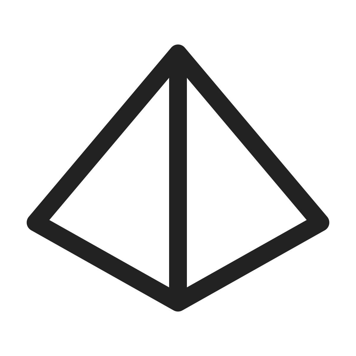 figure  shape  line  form  graphic  geometry  pyramid icon icon