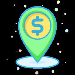 finance, business, company, economic, interprise, place, holder icon icon