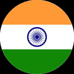 flag, india, country, world icon icon