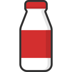 food, drink, packaging, beverage, bottle, milk, healthy icon icon