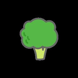 food, vegetable, broccoli, cauliflower icon icon