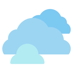 forecast, cloudy, weather, element, climate, rain, cloud icon icon
