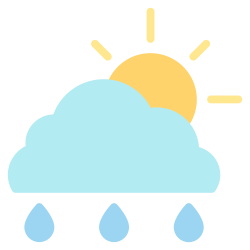 forecast, weather, element, sunny, climate, rain, cloud icon icon