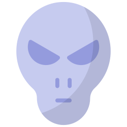 galaxy, space, science, astronomy, ufo, alien, research icon icon