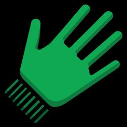 gardening, clothing, gloves, garden icon icon