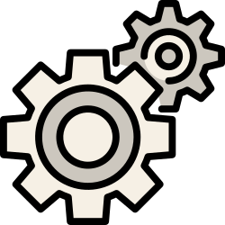 gear, application, mobile, smartphone, ui, user interface, setting icon icon