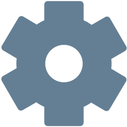gear, office, settings, general, machine, setting, cog icon icon