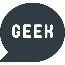 geek, message, bubble, chat icon icon