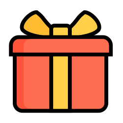 gift, box, christmas, santa, holiday, xmas, present icon icon