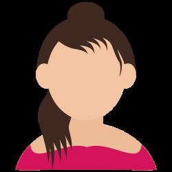 girl, avatar, teenager icon icon