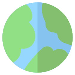 global, globe, earth, geography icon icon