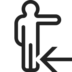 group, person, in, user, profile, right, turn icon icon