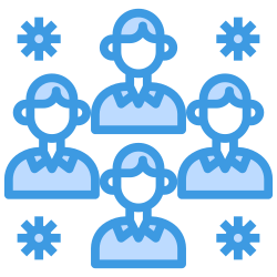 group, virus, people, coronavirus, transmission icon icon