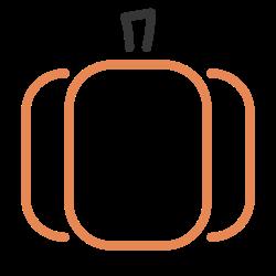 halloween, autumn, fall, vegetable, food, pumpkin, october icon icon