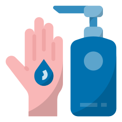 hand disinfectant, hand antiseptic, use hand sanitizer, covid19, disinfection, prevention, hygiene icon icon