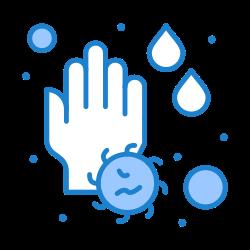 hand, water, wash, drop, soap icon icon