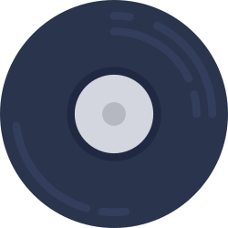 hipster, music, free, on trend, record icon icon